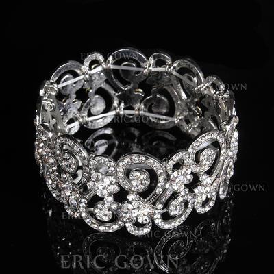 "Bracelets Alloy/Rhinestones Ladies' Fashional 7.48""(Approx.19cm) Wedding & Party Jewelry (011167381)"