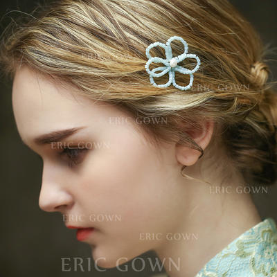 "Hairpins Special Occasion/Casual/Outdoor/Art photography 2.76""(Approx.7cm) 1.97""(Approx.5cm) Simple Headpieces (042156686)"