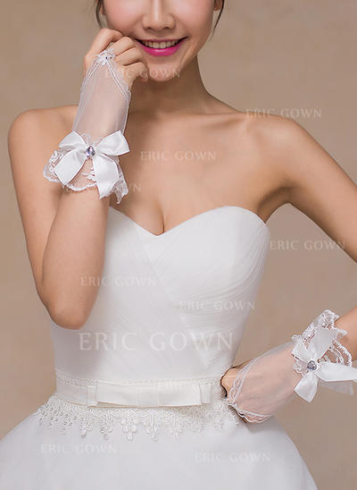 Lace Ladies' Gloves Bridal Gloves Fingerless 18cm(Approx.7.09inch) Gloves (014192112)