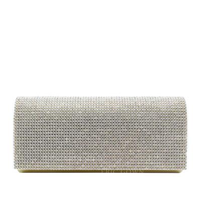 Elegant Satäng Grepp/Lyx Bag (012139095)