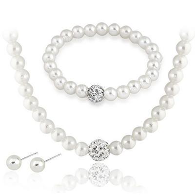 Jewelry Sets Imitation Pearls Pierced Ladies' Gorgeous Wedding & Party Jewelry (011166229)