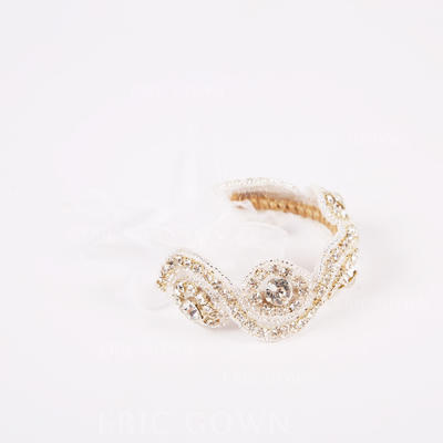 "Wrist Corsage Wedding Rhinestone 0.79"" (Approx.2cm) 1.57"" (Approx.4cm) Wedding Flowers (123189279)"