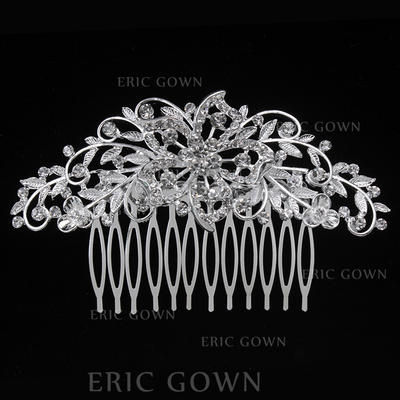 """Combs & Barrettes Wedding/Special Occasion/Party Alloy 3.94""""(Approx.10cm) 2.36""""(Approx.6cm) Headpieces (042156886)"""