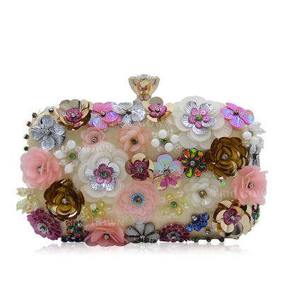 Clutches Wedding/Ceremony & Party Acrylic Snap Closure Elegant Clutches & Evening Bags (012188098)