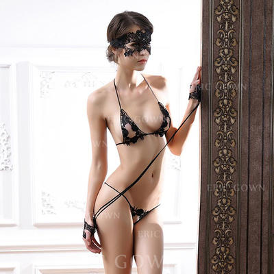 Lingerie Set Special Occasion Fashion Lace/Nylon Sexy Lingerie (041193328)