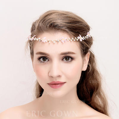 """Headbands Wedding/Special Occasion/Party Alloy/Imitation Pearls 14.57 """"(Approx.37cm) Beautiful Headpieces (042157939)"""