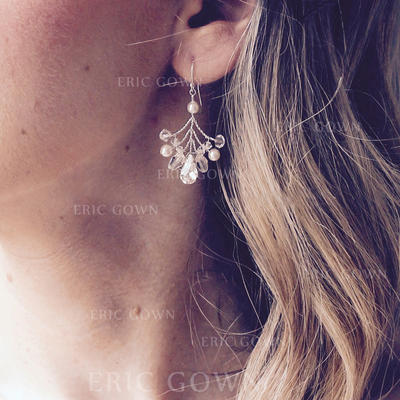 Earrings Imitation Pearls Imitation Pearls Pierced Ladies' Wedding & Party Jewelry (011167461)