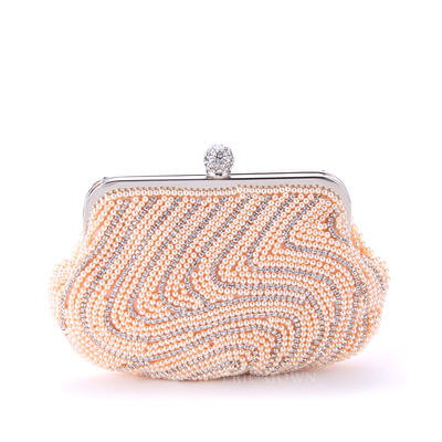"""Clutches Ceremony & Party Imitation Pearl Attractive 8.27""""(Approx.21cm) Clutches & Evening Bags (012185651)"""