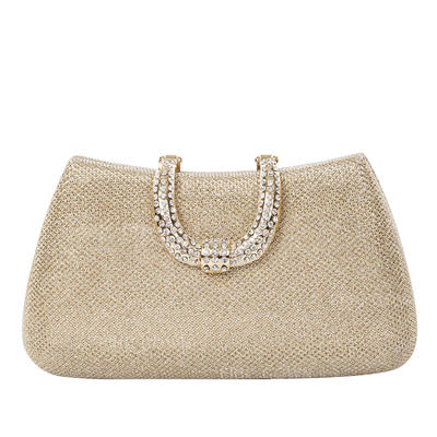 Clutches Wedding/Ceremony & Party Sparkling Glitter Snap Closure Dreamlike Clutches & Evening Bags (012185607)