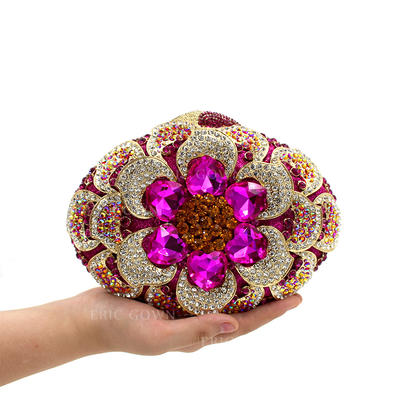 "Clutches/Luxury Clutches Wedding/Ceremony & Party Crystal/ Rhinestone Gorgeous 7.48""(Approx.19cm) Clutches & Evening Bags (012186930)"