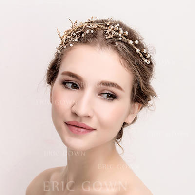 "Tiaras Wedding/Special Occasion Rhinestone/Alloy 14.17""(Approx.36cm) 3.54""(Approx.9cm) Headpieces (042158357)"