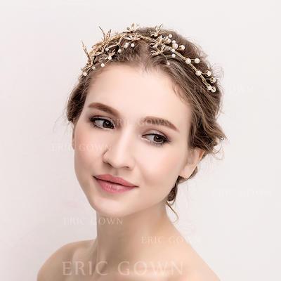 "Tiaras Wedding/Special Occasion Rhinestone/Alloy 14.17""(Approx.36cm) 3.54""(Approx.9cm) Headpieces (042158357)"