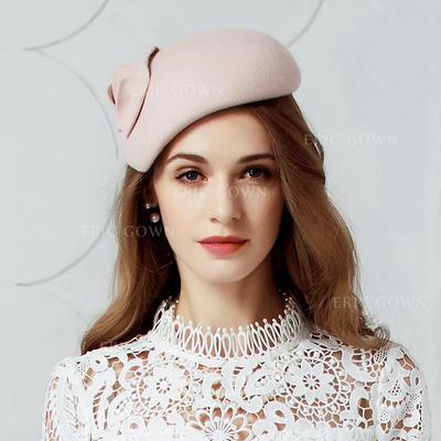 Wool Fascinators Elegant Ladies' Adjustable Hats (196195512)