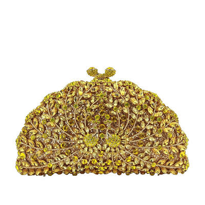 Clutches/Luxury Clutches Wedding/Ceremony & Party Crystal/ Rhinestone/Alloy Gorgeous Clutches & Evening Bags (012187395)
