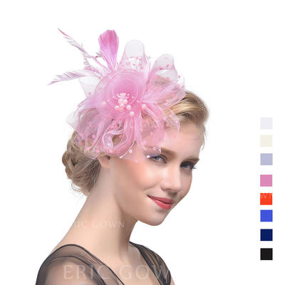 Cambric With Feather Fascinators Beautiful Ladies' Hats (196194674)