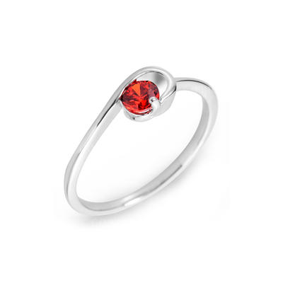 Rings Zircon/Platinum Plated Ladies' Nice Wedding & Party Jewelry (011164835)