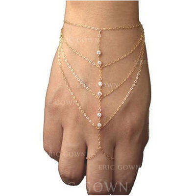 "Bracelets Alloy/Rhinestones Ladies' Nice 7.09""(Approx.18cm) Wedding & Party Jewelry (011166365)"