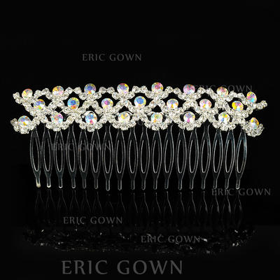 "Combs & Barrettes Wedding/Special Occasion Alloy 4.53""(Approx.11.5cm) 1.97""(Approx.5cm) Headpieces (042156352)"
