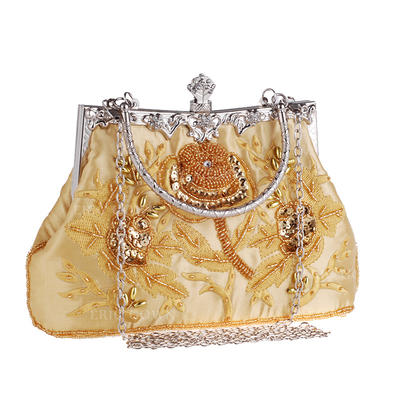 "Clutches Wedding/Ceremony & Party Embroidery Elegant 8.67""(Approx.22cm) Clutches & Evening Bags (012187314)"