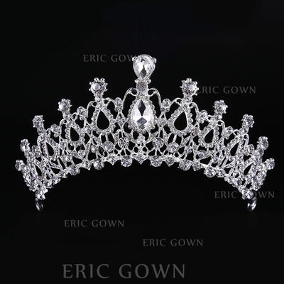 "Tiaras Wedding/Special Occasion Rhinestone/Alloy 2.56""(Approx.6.5cm) 7.87""(Approx.20cm) Headpieces (042158679)"