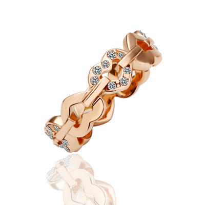 Rings Alloy/Rose Gold Plated Ladies' Beautiful Wedding & Party Jewelry (011166292)
