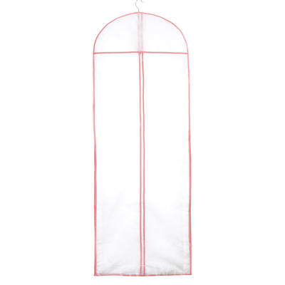 Garment Bags Gown Length Center Zip Tulle/Nonwoven Fabric White Wedding Garment Bag (035192272)