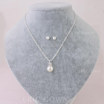 Jewelry Sets Imitation Pearls Lobster Clasp Pierced Ladies' Wedding & Party Jewelry (011167958)