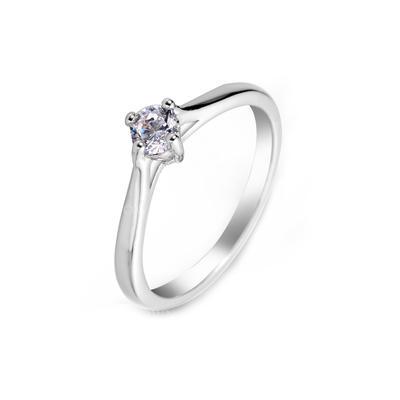 Rings Zircon/Platinum Plated Ladies' Beautiful Wedding & Party Jewelry (011164831)