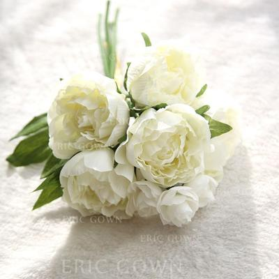 "Bridesmaid Bouquets/Decorations Free-Form Wedding Fabric 12.20""(Approx.31cm) Wedding Flowers (123189482)"
