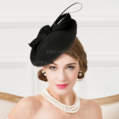 Wool With Feather Fascinators Eye-catching Ladies' Hats (196194386)