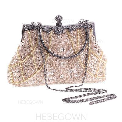 Einkaufstaschen Hochzeit/Zeremonie & Party Acryl/Perlstickerei Busseln Arretieren Verschluss Mode Clutches & Abendtaschen (012188119)