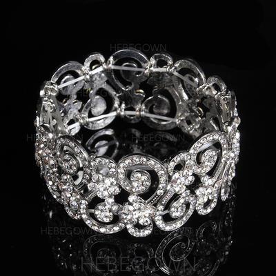 "Armband Legering/Strass Damer' Mode 7.48""(Ungefärlig 19cm) Bröllops- & Festsmycken (011107496)"