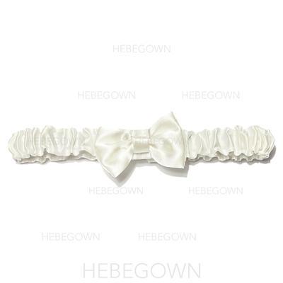 Strumpfbänder Brautmoden Hochzeit/besondere Anlässe Satin mit Bowknot Strumpfband (104196027)