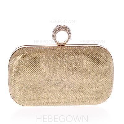 Einkaufstaschen Lässige & Einkaufen PU Magnetverschluss Mädchenhaft Clutches & Abendtaschen (012186960)