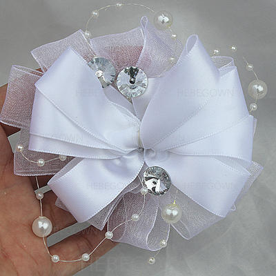 """Boutonniere Free-Form Wedding/Party/Casual Satin 2.76""""(Approx.7cm) Wedding Flowers (123190544)"""