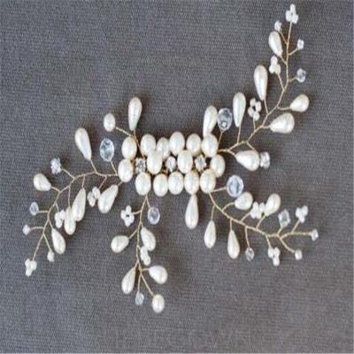 Vakkert Crystal/Imitert Perle Kammer og Barrettes (Selges i ett stykke) (042137965)