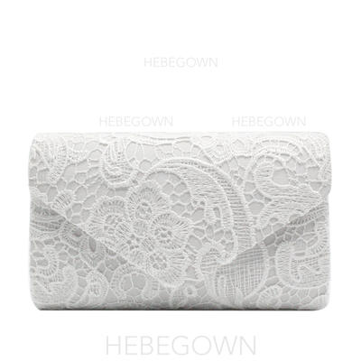 Elegant Spets Grepp/Lyx Bag (012139091)