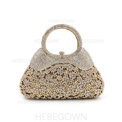 Gorgeous Kristall/Strass Grepp/Lyx Bag (012114189)
