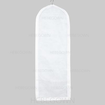 Kleidersäcke Kleid Länge Seitlicher Reißverschluss Vließstoff Weiß Kleidersack für Hochzeitsmode (035192276)