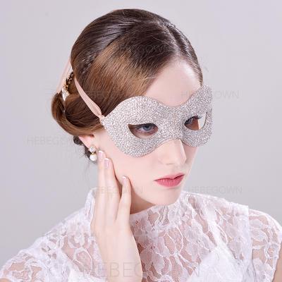 Elegant/Iögonfallande Strass/Legering/En Nivå Strass Masker med En Nivå Strass (042068192)