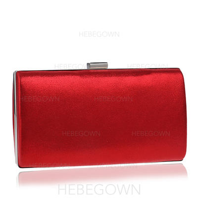 Clutches/Satchel Wedding/Ceremony & Party Polyester Magnetic Closure Elegant Clutches & Evening Bags (012187963)