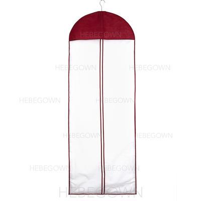 Kleidersäcke Kleid Länge Reißverschluss in der Mitte Tüll/Vließstoff Burgunderrot Kleidersack für Hochzeitsmode (035192280)