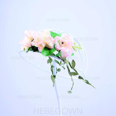 """Pannband Wedding/Särskilda tillfällen/Party Konstsilke 7.09""""(Ungefärlig 18cm) 2.36""""(Ungefärlig .6cm) Hårsmycken (042108296)"""