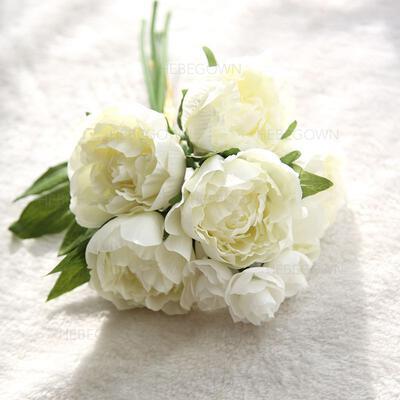 """Brautjungfer Blumensträuße/Dekorationen Freigeformt Hochzeit Stoff 12.20""""(Ungefähre 31cm) Brautstrauß (123189482)"""