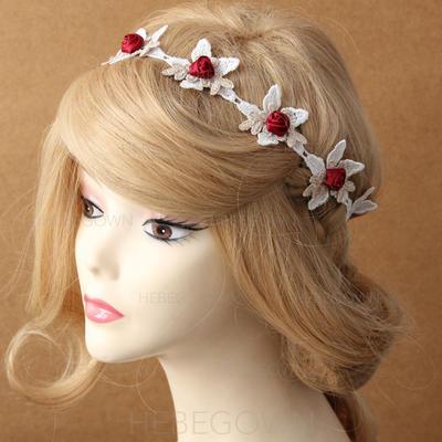 Blomst Formet Blonder Pannebånd (042079078)