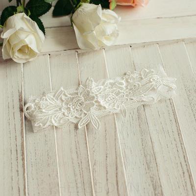 Strumpfbänder Damen Hochzeit/Lässige Kleidung/Kleid/besondere Anlässe/Tägliche Abnutzung Satin mit Blume Strumpfband (104196351)