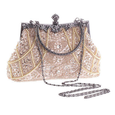 Totes Wedding/Ceremony & Party Acrylic/Beading Kiss lock closure Fashional Clutches & Evening Bags (012188119)