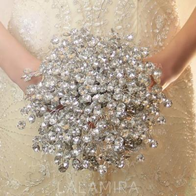 "Bridal Bouquets Free-Form Wedding Crystal 8.66""(Approx.22cm) Wedding Flowers (123190159)"