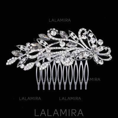 """Combs & Barrettes Wedding/Special Occasion Rhinestone 4.13""""(Approx.10.5cm) 2.36""""(Approx.6cm) Headpieces (042158825)"""