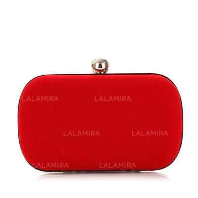 """Clutches Wedding/Ceremony & Party Velvet Charming 6.3""""(Approx.16cm) Clutches & Evening Bags (012185647)"""